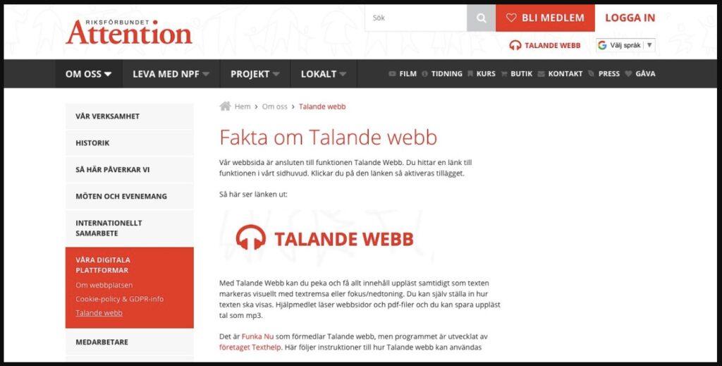talande webb